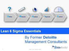 Lean Six Sigma Essentials in Editable Powerpoint slides