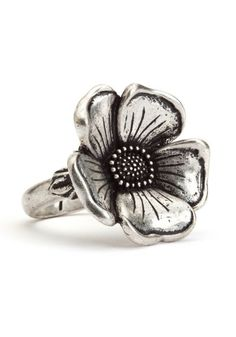 floral ring, lucky brand