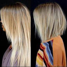 "Ramirez|Tran Salon (@ramireztransalon) on Instagram: "" Color by @andrea_peterman_ /// Cut & style by @anhcotran #bobs #blonde #thechop"""
