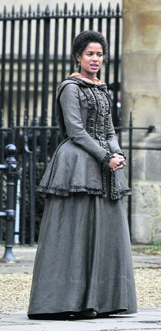 On-Set Photos From 'Belle' Filming In Oxford, With Gugu Mbatha-Raw
