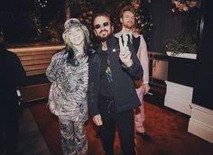 Bae, Most Beautiful People, Ringo Starr, Her Brother, Lady And Gentlemen, Celebs, Celebrities, Green Hair, Billie Eilish