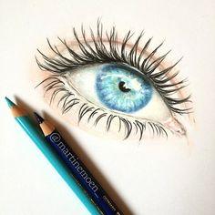 ❤️ #eye #drawing #draw #art #colourpencil