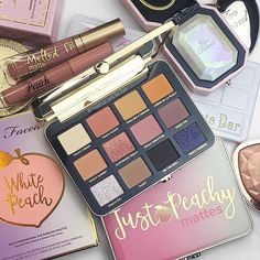 "33.3k Likes, 189 Comments - Too Faced Cosmetics (@toofaced) on Instagram: """"SHE'S HERE  My new @toofaced White Peach palette has finally come home and I couldn't be…"""