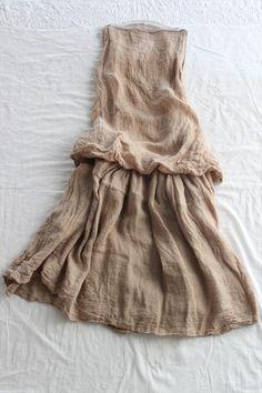 Dress by Veritecoeur Yohji Yamamoto, Cool Outfits, Casual Outfits, Quoi Porter, Gauze Dress, Magnolia Pearl, Mori Girl, Linen Dresses, Robin