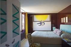 How To Decorate With Geometric Pattern | Ashley Hicks (houseandgarden.co.uk)
