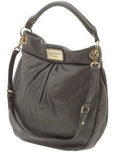 Marc by Marc Classic Q Hillier in Faded Aluminum Marc Jacobs Purse 3595b25384180