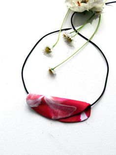 Modern Necklace Artisan Jewelry  abstract large by StudioSabine, $25.00