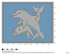 Dolphins wall hanging