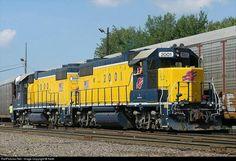 Yard job: ALS 2001 Alton & Southern Railway EMD GP38-2 at Alorton, Illinois by Keith