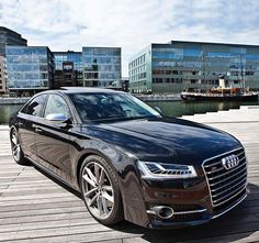 The big bad boat. And no, not the one in the back. Car: 2016 Audi S8 plus (605hp, V8 4.0 twin turbo) Performance 0-100kmh(62mph): 3.35sec (tested), 3.8sec (official) Location: Malmö, Sweden Color: Mythos black metallic Facebook: facebook.com/auditography Camera & lens: Canon Eos 5D Mark II / 24-70mm Thanks to: Audi Malmö (@audimalmohbg) Remember, ALL my photos are available on my popular Facebook page, where you can download them in their high quality. #audi #s8 #auditography #a8 #quattro...