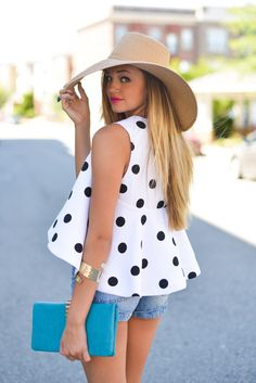 Polka dot #swoonboutique