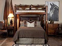 Bedding for a cabin