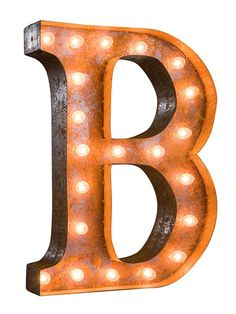 """24"""" B Vintage Marquee Light by Vintage Marquee Lights at Gilt"""
