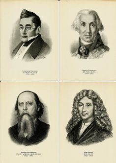 Portraits of Writers and Poets Vintage Russian by LucyMarket