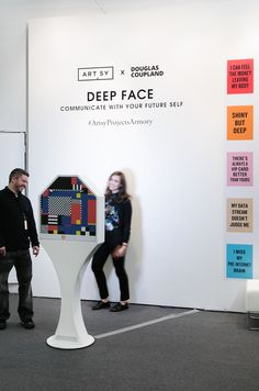 Douglas Coupland's photobooth will throw Facebook off your trail—for now.