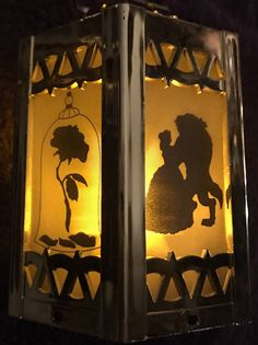 If you are looking to add some whimsy and magic to your home or next soiree, look no further! These Disney inspired mini lanterns are the perfect addition Disney Diy, Disney Home Decor, Disney Crafts, Disney Love, Disney Stuff, Beauty And Beast Wedding, Beauty And The Beast Party, Disney Beauty And The Beast, Disney Garden