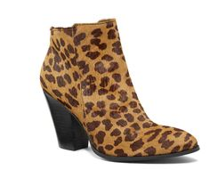Let your wild side out this winter with Victoria Secret's Two-Piece Metro Bootie in a leopard print. Slip them on with a dress for a formal occasion or with your favorite skinny jeans when you're hanging out with your friends. #womensfashion #holidays2014