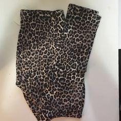 Cute leopard leggings Stretchy Pants Leggings