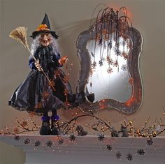 What says Halloween better than witches?