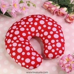 Best Microbead Tube Pillow, Pink, XS