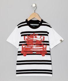 Loving this Black Fire Engine Tee - Infant, Toddler & Boys on #zulily! #zulilyfinds