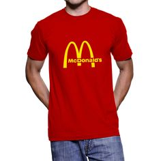 McDonald's Logo Unisex T-Shirt, Tee Shirt by SignCharacter on Etsy