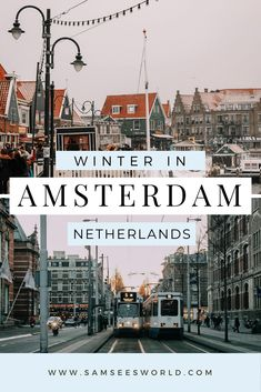 One of the most frequently asked questions by travelers is whether visiting Amsterdam in winter is worth it. Many people wonder if the weather will be too cold and if there are things to do in the winter, however, I would love to clear up all your concerns right now and tell you that winter in Amsterdam is beautiful and a great time to visit the city! Amsterdam In Winter, Visit Amsterdam, Amsterdam Travel, European Road Trip, European Travel, Wanderlust Travel, Asia Travel, Travel Guides, Travel Tips