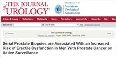 *Serial Prostate Biopsies are Associated With an Increased Risk of Erectile Dysfunction in Men With Prostate Cancer on Active Surveillance
