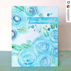 """#Repost @suzyplant with @repostapp. ・・・ New """"one stamp, five ways"""" blog post up…"""