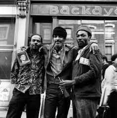 From The Dead Level, 1971 - Hakim Jamal (centre), on Portobello Road, was an American Black Panther who moved to London in 1965. In 1972 he and his girlfriend Gale Benson followed Michael X to his commune in Trinidad, where Benson's murder led to Michael X's arrest and execution.  Faces From The Frontline – Charlie Phillips At Picturehouse Central Sun 28 May – Wed 21 June   To book for Spike is 60: Malcolm X + Panel Discussion…