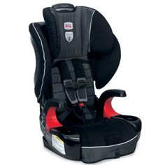With True Side Impact Protection that has deep side walls and a head restraint with energy-absorbing foam to distribute crash forces // Britax Frontier 90 Car Seat | galtbaby.com