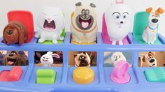 Secret Life of Pets Toys Surprises Best Kid Learning Video Compilation Pop Up Pals LEARN COLORS. We learn the colors red green yellow pink and blue. We also learn to count 123s. Our Secret Life of Pets friends are Mel Snowball Gidget Max and Duke! This is an educational learning video with toys that can help with eye-hand coordination fine motor skills and learning English as a second language (ESL).  Subscribe here to never miss a video…