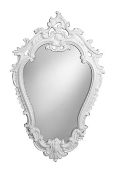 """Victorian Mirror by StyleCraft Lighting  Details: This Baroque ornate chic mirror is sure to add a bold fashion statement to any room. This vintage inspired mirror is the hot decor trend for bedrooms, bathrooms, nurseries, and hallways. - Victorian styling with fun contemporary colors - High gloss finish - Easy to hang - Lightweight - 36"""" L x 22.25"""" W x 2"""" D - Imported Materials: PU, mirror $200.00"""