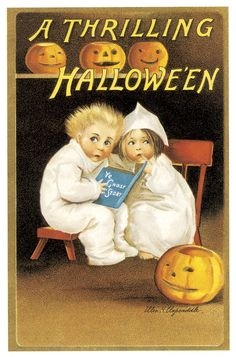 A thrilling Halloween