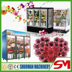 Source Fasion design superior performance commercial refrigerator portable for flower showcase sale on m.alibaba.com