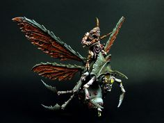 The Internet's largest gallery of painted miniatures, with a large repository of how-to articles on miniature painting Figurine Warhammer, Warhammer 40k Miniatures, Space Marine Dreadnought, Chaos Daemons, Fantasy Battle, Fantasy Miniatures, Warhammer Fantasy, Miniture Things, Minis