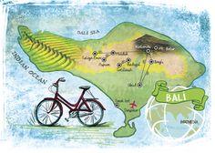 Map of Bali - Tarak Parekh