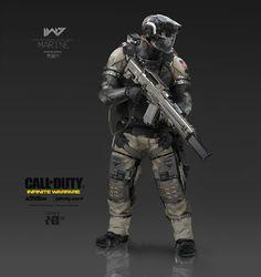 Aaron Beck: Call of Duty | Infinite Warfare | Concept Design