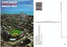 € 0,70 - code : USA-046 - Chicago - Wrigley Field - stadium postcard cartolina stadio carte stade estadio tarjeta postal
