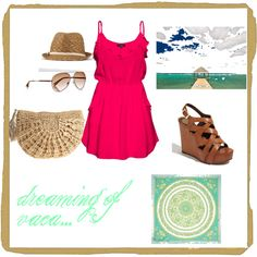 the perfect beach vacation outfit