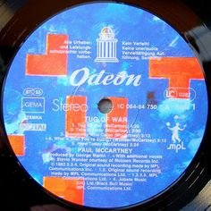 Vinylmania: Paul McCartney Stevie Wonder, Paul Mccartney, Tug Of War, Music Instruments, Musical Instruments
