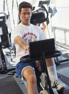 Strength training on a recumbent bike