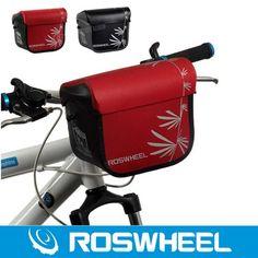 57.49$  Buy here - http://alidhs.worldwells.pw/go.php?t=2012100499 - Roswheel Waterproof Bike Bicycle Handlebar Bag Cycling Front Camera Bag Baskets Durable