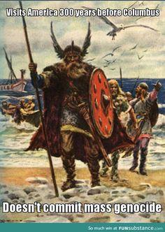 Vikings Don't Get Any Credit
