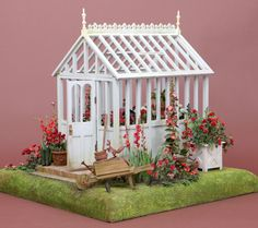 Greenhouse by Polly Morris, side view.