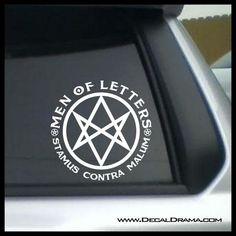 Decal Vinyl Truck Car Sticker TV Supernatural Keep Calm And Carry Salt
