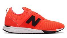 best cheap 4c9a4 a7702 Chaussures New Balance 247 Sport Homme Orange Avec Noir Pas Cher En Ligne
