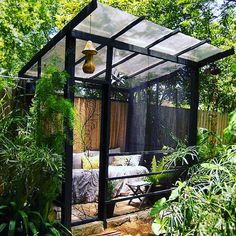 36 Beauty Small helter House Ideas For Backyard Garden Landscape Page 22 of 3 Pergola Patio, Small Pergola, Pergola Shade, Pergola Plans, Small Patio, Gazebo, Pergola Ideas, Pergola Kits, Pergola Screens