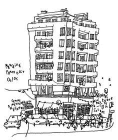 Philippe Doro : Marseille, Porte d'Aix.