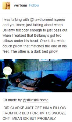 Bellarke, Bellamy, Clarke, the 100, tumblr, funny